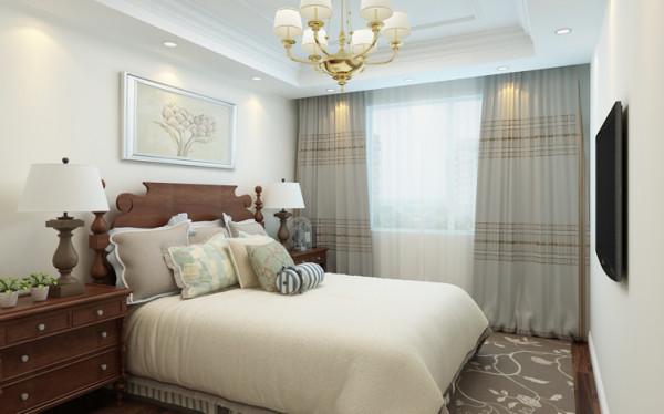 卧室布置较为温馨,作为主人的私密空间,主要以功能性和实用舒适为考虑的重点。