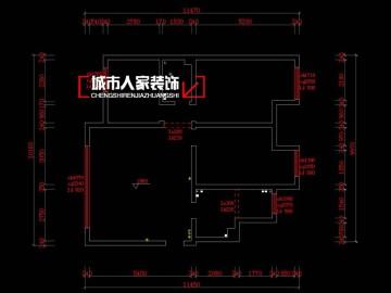 御龙庭120平米现代简约设计案例