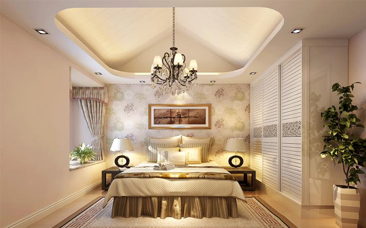 卧室图片来自大业美家装饰在丹石街区100平复式装修设计的分享