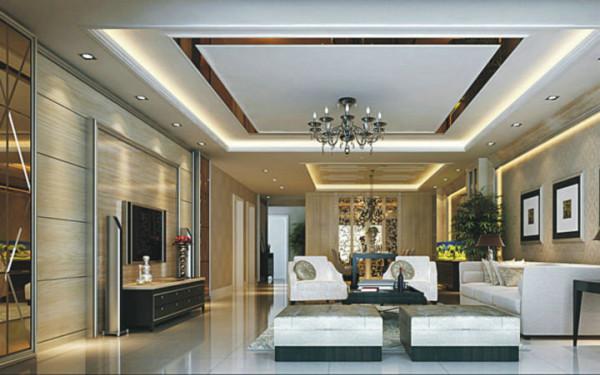 龙城国际 120平米 现代简约 三室
