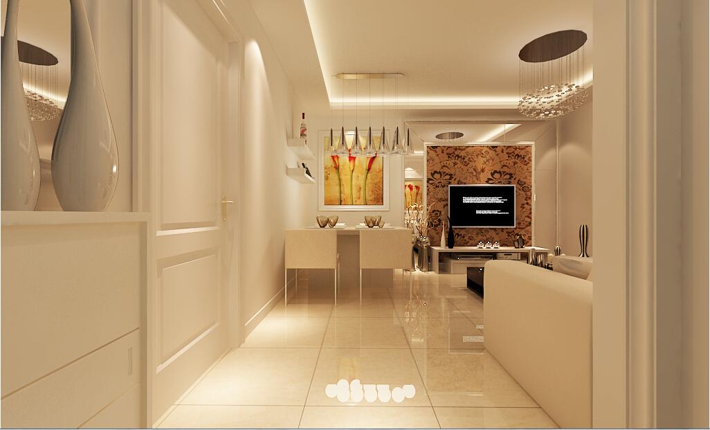 二居 客厅图片来自沈阳新饰家装饰在巴黎春天58平现代的分享
