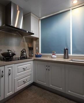 美式 清新 二居 舒适 白领 厨房图片来自佰辰生活装饰在92平清清爽爽美式心窝的分享