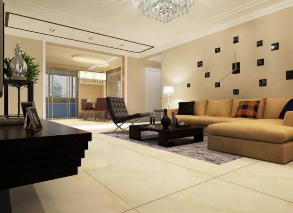 设计理念:客厅作为家庭生活活动区域,它既是全家活动、娱乐、休闲、团聚、就餐等活动场所,又是接待客人对外联系交往的社会活动空间,是家居生活的核心区域,又是接待客人的社交场所,客厅装