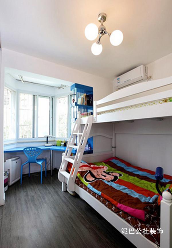 混搭 简约 创意 二居 卧室 卧室图片来自泥巴公社设计师李轶在混搭格调 彩绘空间的分享
