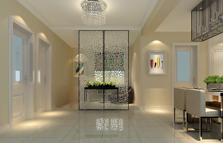 现代 三居 餐厅图片来自高度国际装饰设计集团凌军在长滩壹号150平米现代风格的分享