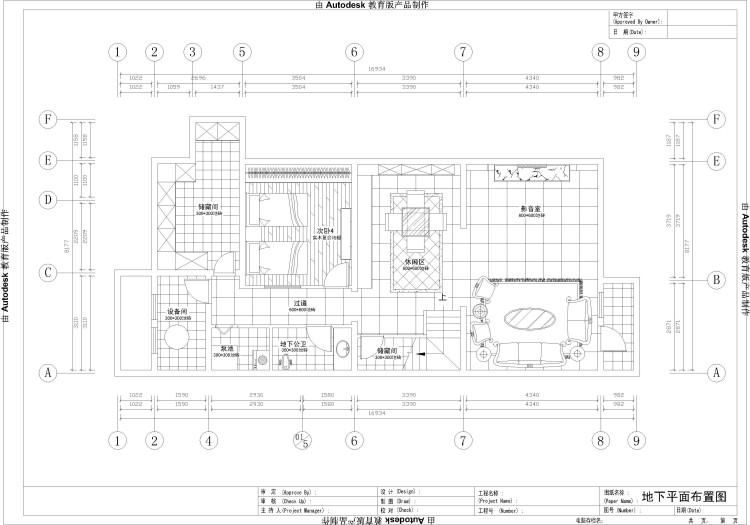 欧式 别墅 户型图图片来自高度国际装饰设计集团凌军在中海尚湖世家295平米欧式的分享