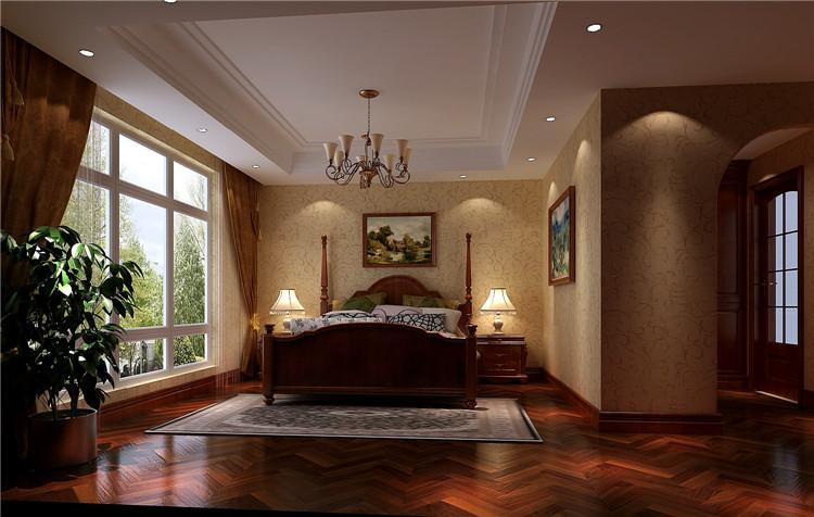 托斯卡纳 别墅 卧室图片来自高度国际装饰设计集团凌军在红杉溪谷300平米托斯卡纳的分享