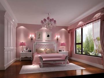 西山一号院四居室美式风格