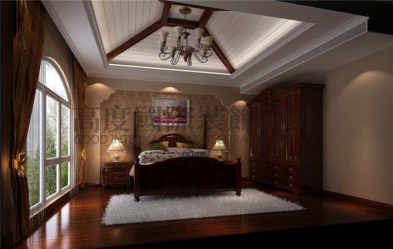 成都高度 别墅装修 别墅装饰 住宅装饰 南湖世纪 177平米 托斯卡纳 卧室图片来自北京高度国际装饰设计成都分公司在南湖世纪177平米托斯卡纳风格的分享