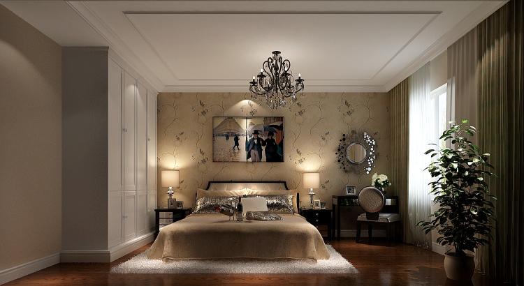 现代 三居 卧室图片来自高度国际装饰设计集团凌军在长滩壹号150平米现代风格的分享