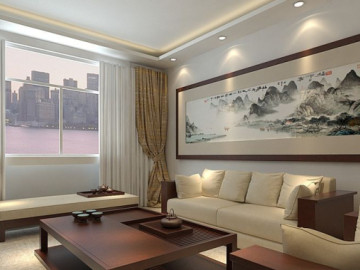 怡丰森林湖135平新中式风格