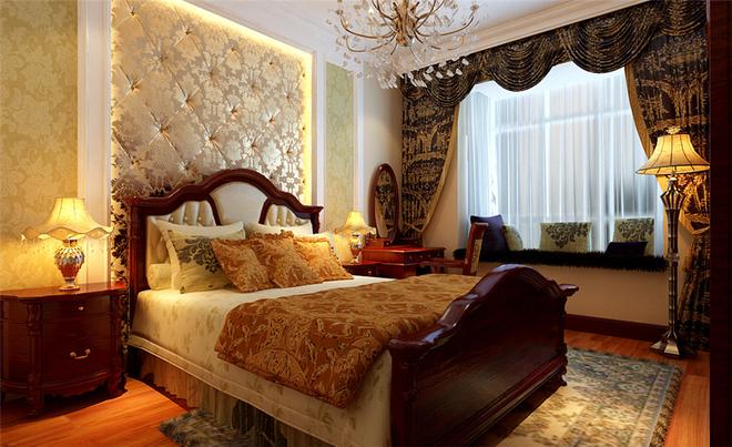保利春天里 生活家 卧室图片来自北京合建装饰单聪聪在保利春天里118平三居效果图的分享