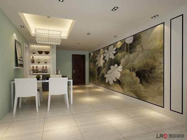 特有的餐厅墙设计,让餐厅别具一格