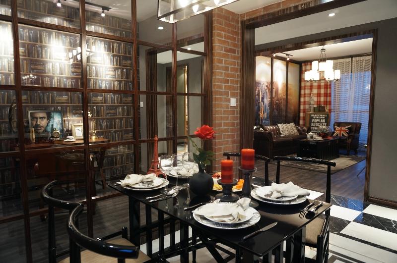 餐厅图片来自斯斯98在《夕阳下的曼哈顿》loft工业风的分享