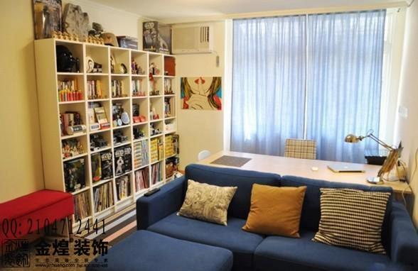 书房也能成为会客区