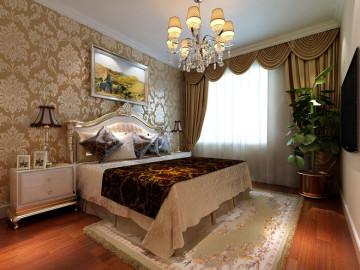 世茂维拉99平三居室装修