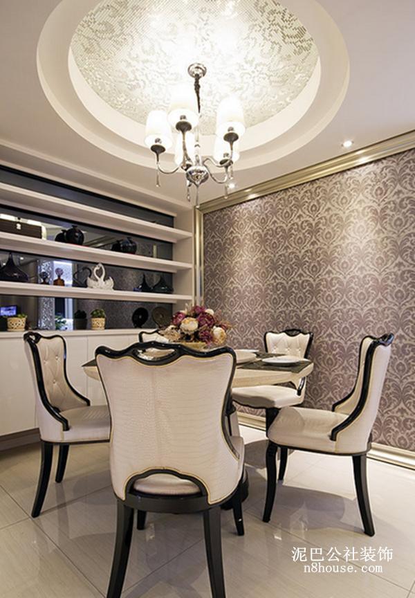 现代简约 实用 线条 二居 餐厅 餐厅图片来自泥巴公社设计师黄雅君在现代简约 华盛花园的分享