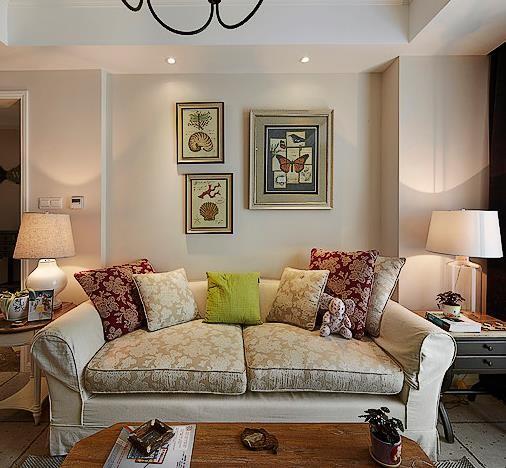 客厅沙发细节