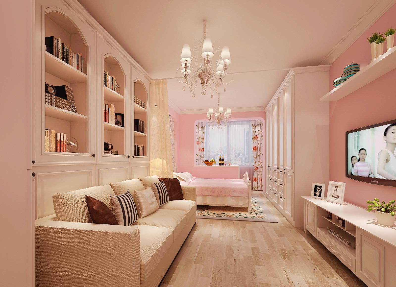 田园 二居 白领 80后 小资 客厅图片来自装饰装修-18818806853在天健.上城韩式田园风格的分享