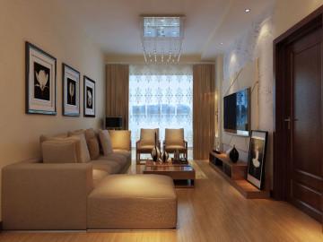 现代简约风格两居室度假房