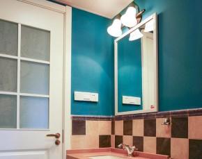 简约 美式 清新 质感 舒适 卫生间图片来自佰辰生活装饰在137平质感简约美式心窝的分享