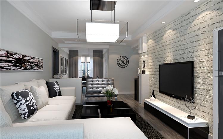 客厅图片来自用户2652703143在东润华景120平北欧风格效果图的分享