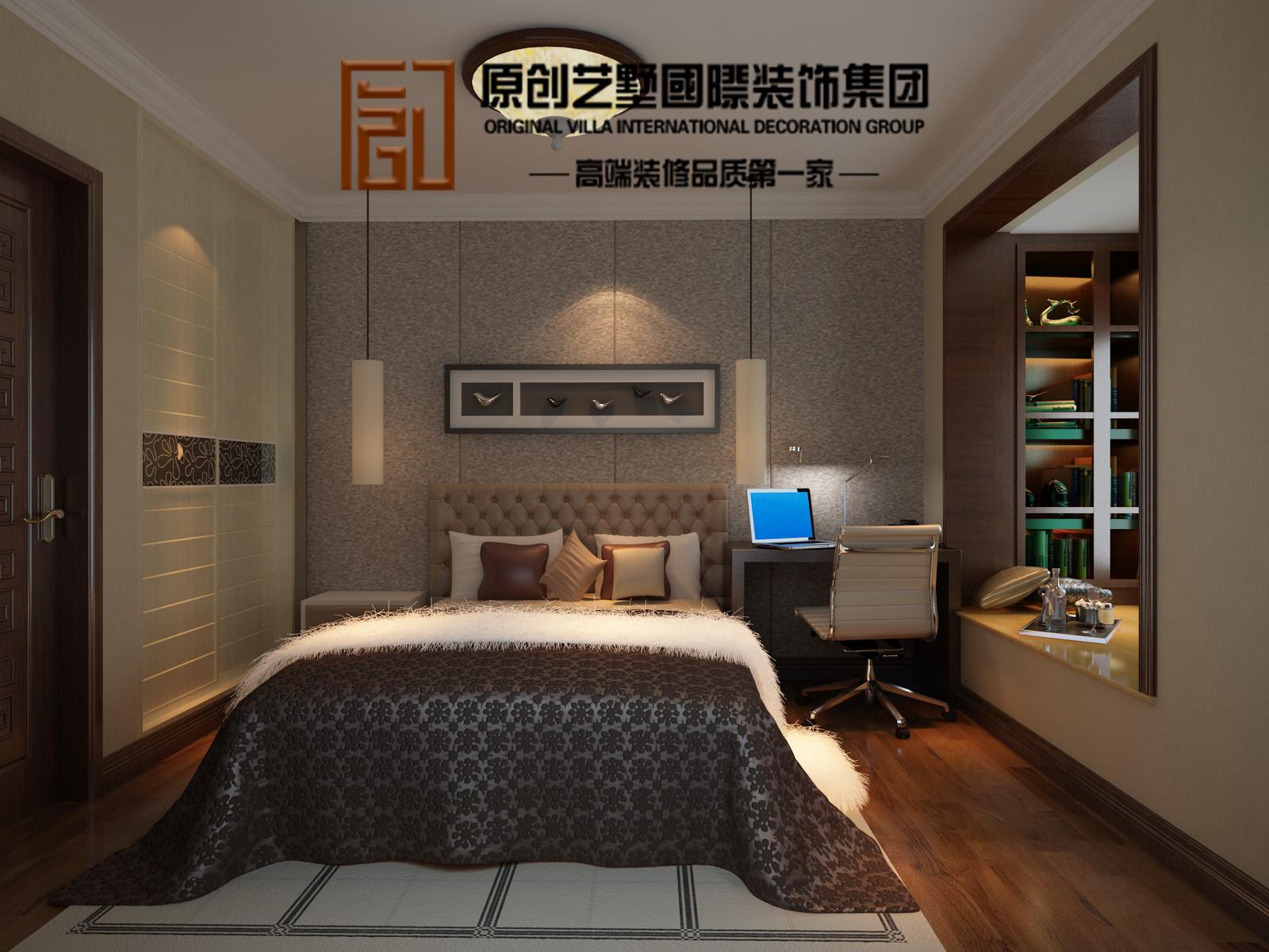 欧式 三居 卧室图片来自北京今朝装饰刘在保利春天里欧式设计的分享