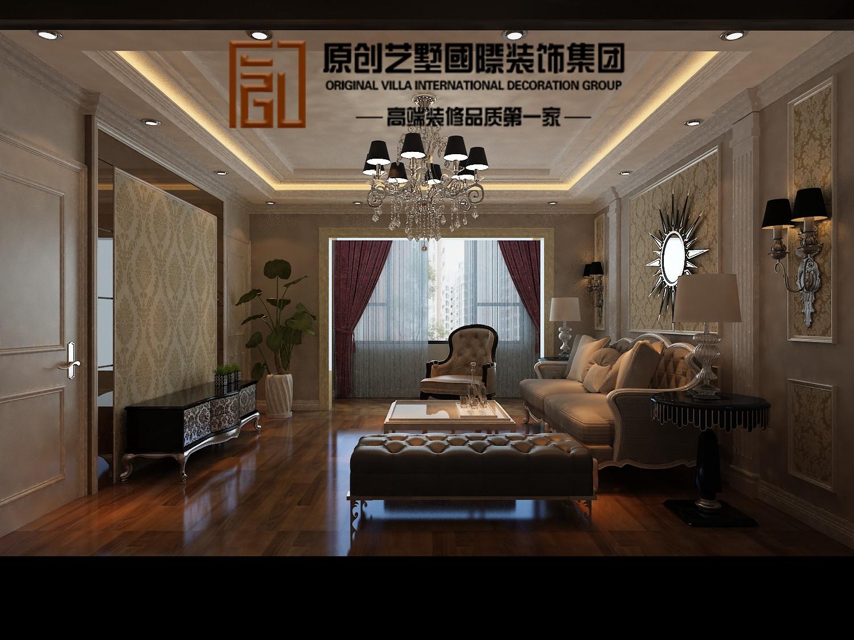欧式 三居 客厅图片来自北京今朝装饰刘在保利春天里欧式设计的分享