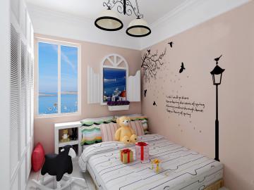 建投观海92平现代温馨之家