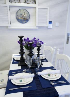 简单 舒适 地中海 餐厅图片来自业之峰装饰旗舰店在136平3房地中海风格悠哉悠哉的分享