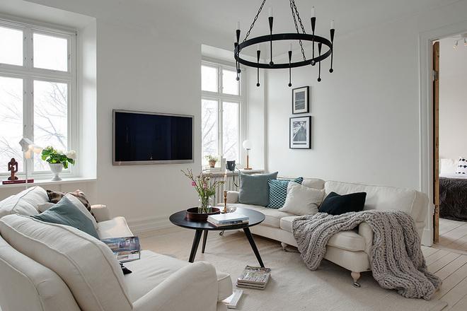 北欧 三居 白领 收纳 80后 小资 客厅图片来自沪上名家装饰在118平--经典北欧公寓的分享