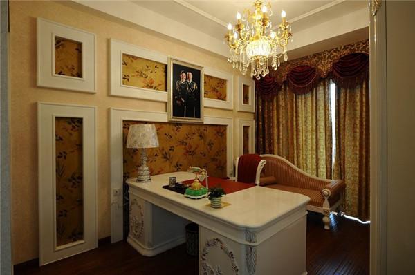 欧式 混搭 别墅 80后 白领 书房图片来自长沙金煌装饰在复古与摩登古典欧式风格的分享