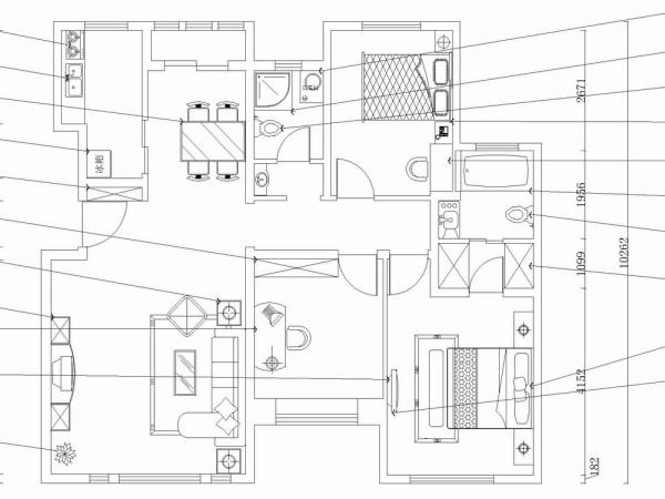 该户型中信公园城一期洋房标准层F户型3室2厅2卫1厨 120.00㎡,规矩方正,适于设计。进入入户门,我们首先看到的是客厅,客厅宽敞明亮,带有飘窗,利于空气流动。逆时针旋转是是书房,书房宽敞明亮,带有飘窗。