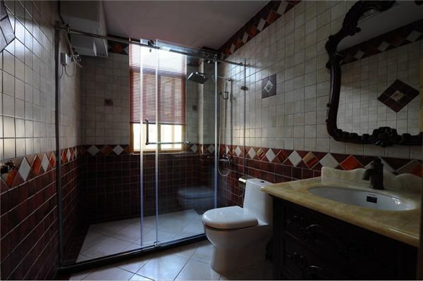 欧式 混搭 别墅 80后 白领 卫生间图片来自长沙金煌装饰在复古与摩登古典欧式风格的分享