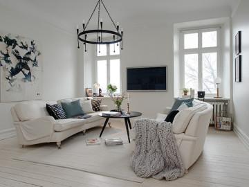 118平--经典北欧公寓