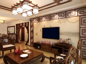 日华里175古典中中式之家