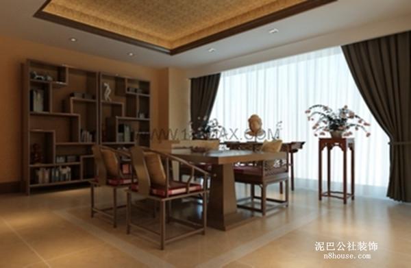 中式 复古 奢华 别墅 餐厅 餐厅图片来自泥巴公社设计师陈康在简约风尚 奥林匹克花园的分享