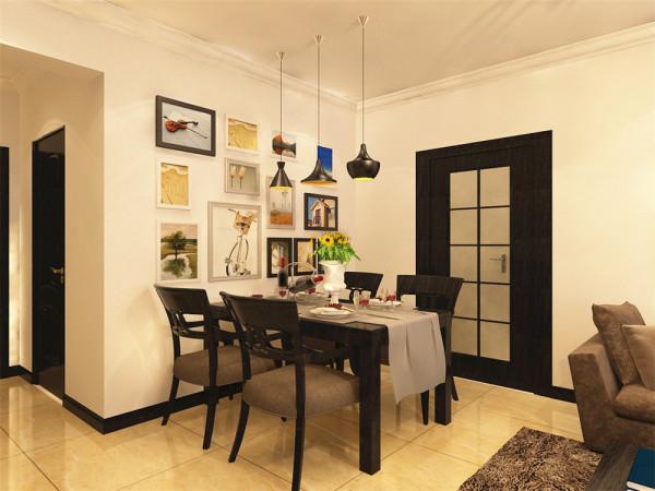 本户型为欧泊城3室2厅1卫1厨 105㎡.本方案主要以后现代风格为设计手法,追求时尚与潮流,非常注重居室空间的布局和使用功能的完美组合。
