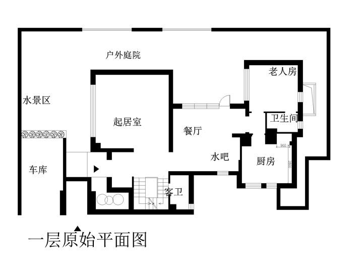 简约 别墅 户型图图片来自实创装饰上海公司在极简风格装修清新明了有创意的分享