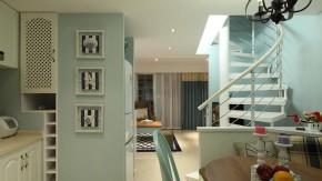 地中海 收纳 二居 美观 舒适 其他图片来自佰辰生活装饰在82平超美地中海风两室一厅的分享