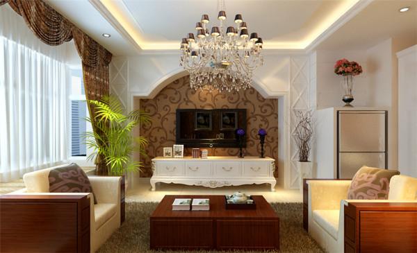 本案以简约风格为主要特征,客厅与餐厅相连接,使空间显得十分通透,时尚,舒服。整个空间以浅色为主色调,配合柔和的灯光,