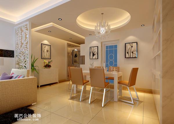 现代 时尚 简约 二居 餐厅 餐厅图片来自泥巴公社设计师戴鲁君缘在现代时尚 湘江北尚的分享