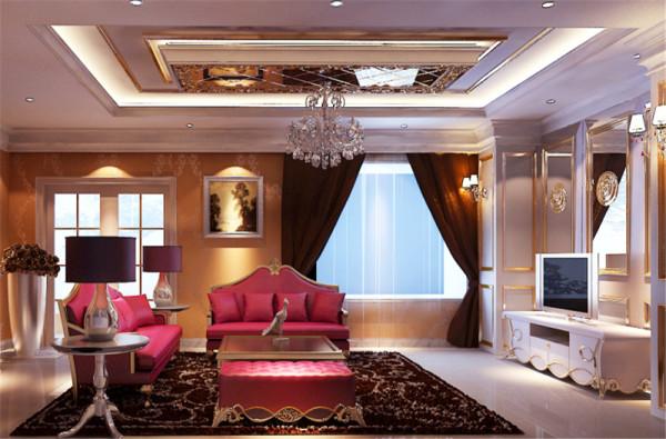 整体设计风格定位在古典欧式,低此案例房主是50多岁成功人士。自己旗下有很多企业,对装修有很高的品质要求,