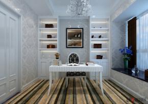 新古典 欧式 三居 小资 白领 80后 书房图片来自朗润装饰工程有限公司在保利花园6号楼c1户型-新古典设计的分享