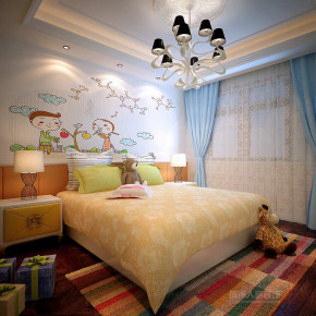 欧式 新古典 三居 小资 收纳 儿童房图片来自西安城市人家装饰王凯在奢华大气欧式新古典三居的分享