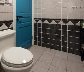 简约 混搭 三口之家 温馨 舒适 卫生间图片来自佰辰生活装饰在简约美式混搭风三口之家的分享
