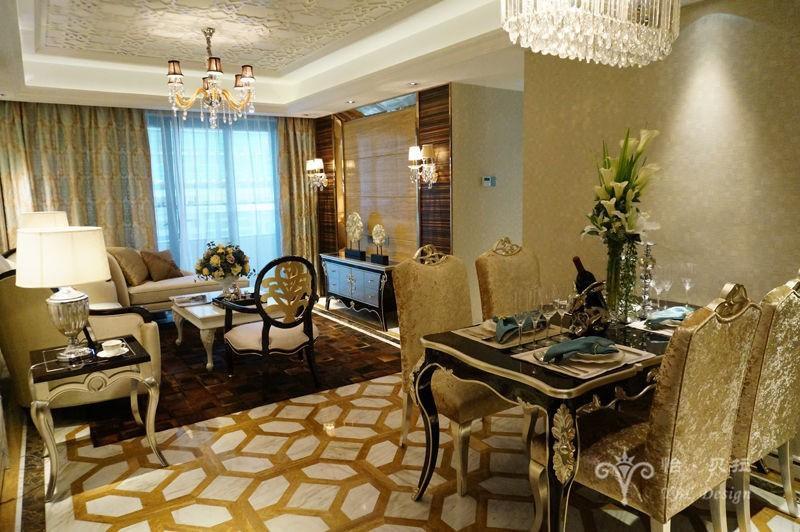 欧式 二居 80后 小资 客厅图片来自广州怡贝拉装饰工程在佛山普君新城•华府21A样板间的分享