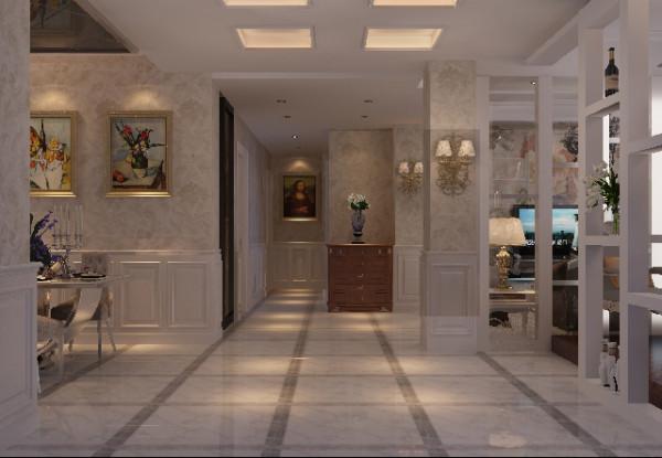 从入门到客厅、餐厅、书房、厨房以至卧房,形成一条环环相扣的主线,优化设计理念将整个空间有机的连接在一起。