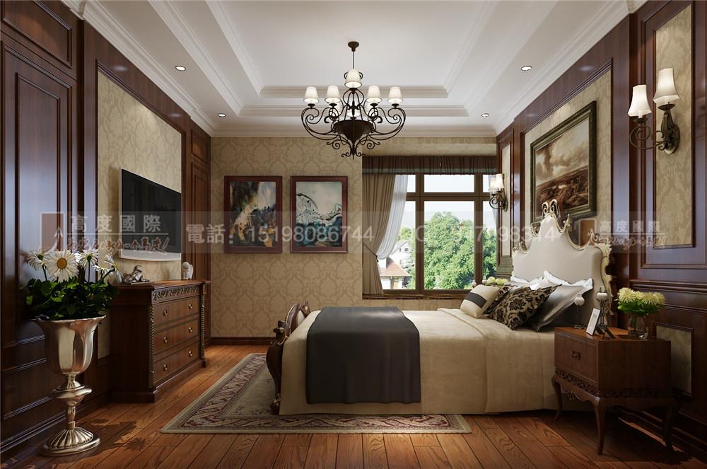 领馆国际城 卧室图片来自成都高度国际别墅装饰在领馆国际城——美式风格的分享