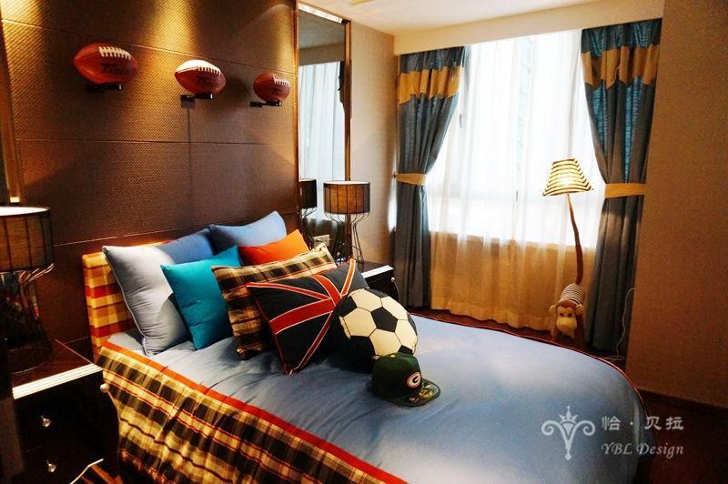 欧式 二居 80后 小资 儿童房图片来自广州怡贝拉装饰工程在佛山普君新城•华府21A样板间的分享